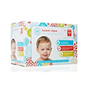 The Honest Company Baby Wipes, Fragrance Free, Classic, 576Count, Packaging may vary