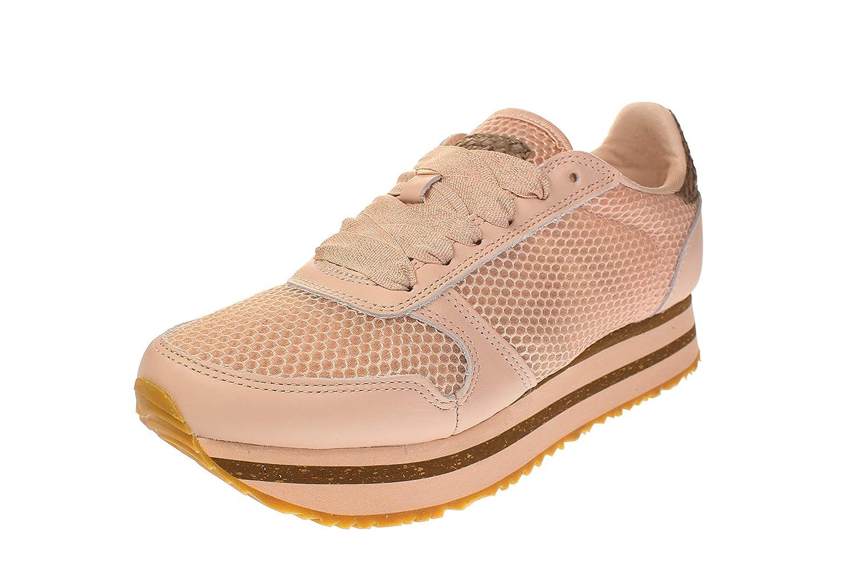 Woden WNS821 YDUN - Damen Schuhe Turnschuhe - 008-Blaush