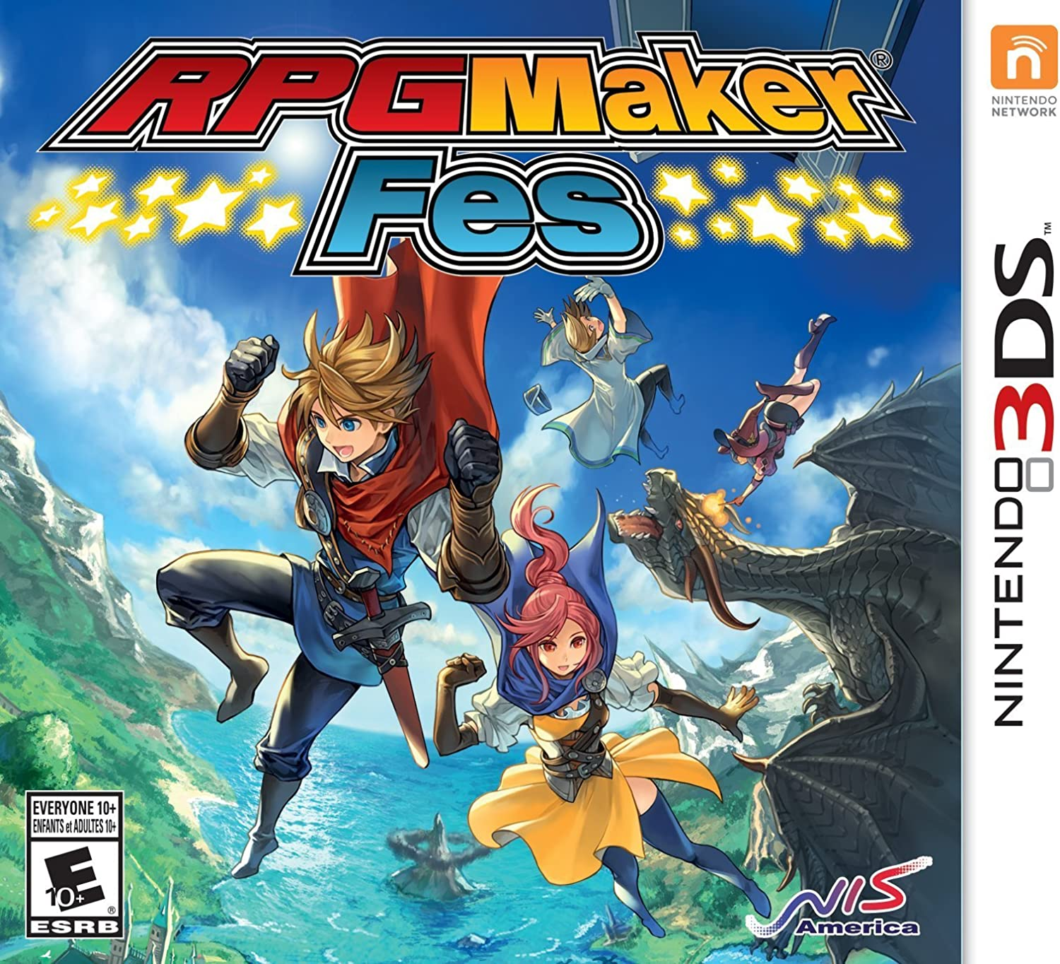 Amazon com: RPG Maker Fes - Nintendo 3DS: Video Games