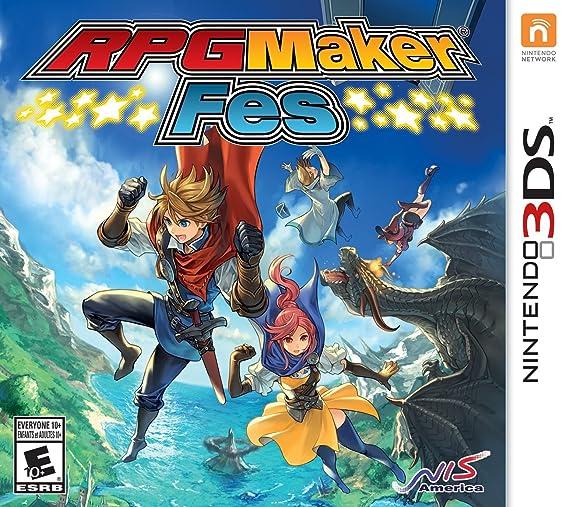 Rpg Maker Fes Nintendo 3ds Standard Edition Amazon Com Mx