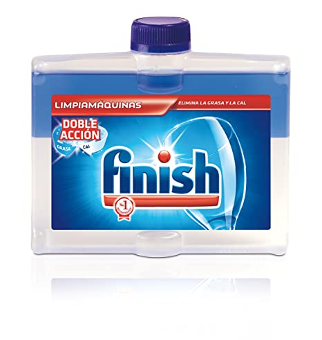 Finish Limpiamáquinas Regular Líquido para Lavavajillas, pack de 3 uds x 250 ml