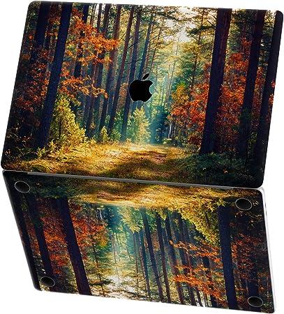 Forest fog mac pro 15 skin landscape decal 2020 macbook pro 13 mac book 16 sticker macbook air 12 inch macbook retina decal mac 2019 vinyl