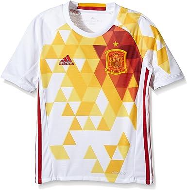 adidas 2ª Equipación Federación Española de Fútbol 2016/2017 - Camiseta Oficial niños: Amazon.es: Zapatos y complementos