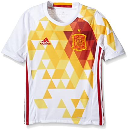 1c7d823f746 Amazon.com: adidas Spain UEFA Euro 2016 Away Jersey - Youth - White ...