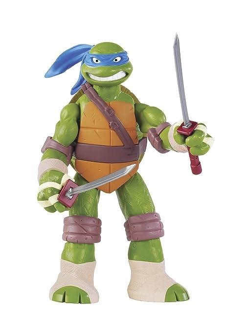 Turtles - Figura de Las Tortugas Ninja (30 cm), diseño de Leonardo [Importado]