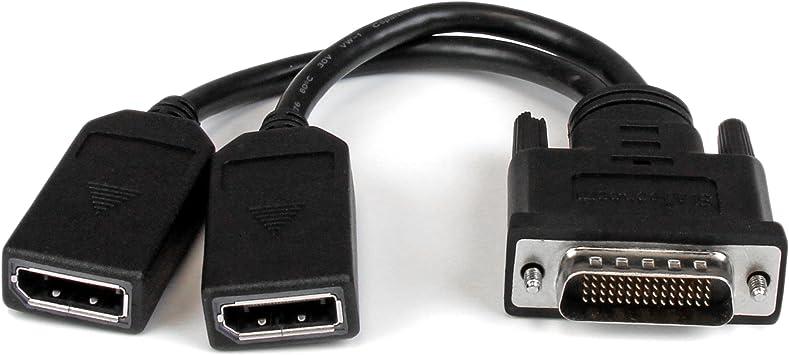 StarTech DMSDPDP1 - Cable Adaptador DMS59 a DisplayPort Doble de 20 cm