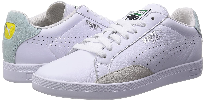PUMA Sneaker Donna match lo Basic Sports women pelle 357543 07 Bianco Aqua