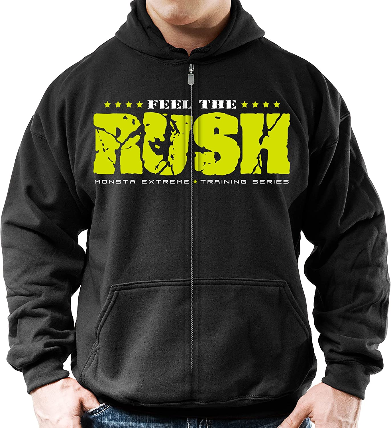 The Hulk Mens Gym Hoodie Training Top Bodybuilding MMA Fitness Weightlifting
