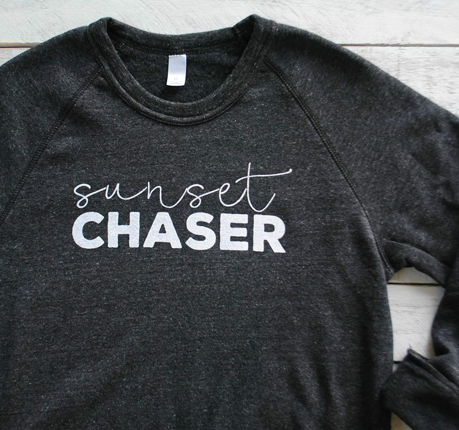 Sunset Chaser Cozy Sweater Fall Crewneck Sweatshirt Wanderlust Outdoor Gift