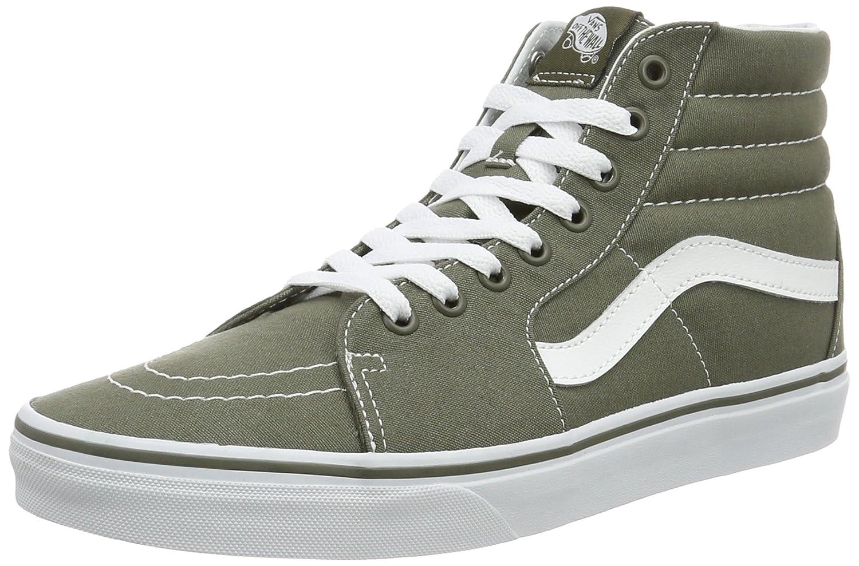Vans Herren UA Sk8-Hi Hohe Sneakers, Gruuml;n  41 EU|Gr眉n (Canvas)
