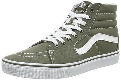 ba1241e49f5 Vans VA38GEMHN Unisex SK8-HI Canvas Skate Shoes