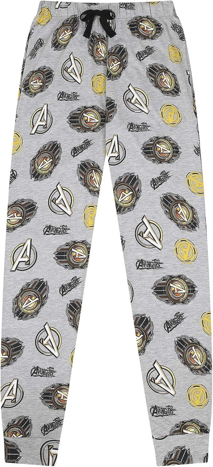 Los Vengadores - Pantalones de Pijama Oficiales de Marvel ...