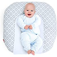 Rabitat Snooze Baby Lounger (with Waterproof Protection) Light Green