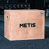 METIS 3-In-1 Plyo Box – Krachttraining Materiaal | Houten Trainingshulpmiddel Voor Binnengebruik | 51CM, 61CM, 76CM…