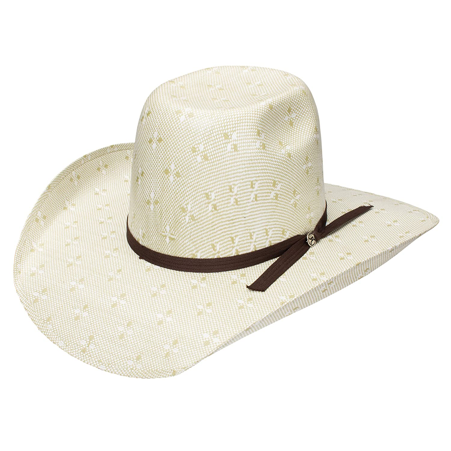 Amazon.com  Resistol Hooey Collection Pecos Straw Cowboy Hat  Clothing 3e09975d8cb