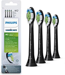 Philips Sonicare W2 Optimal White, Standard Sonic Toothbrush Heads - 4 Pack