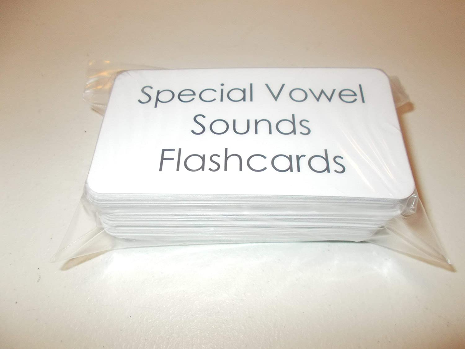 101 Laminated Special Vowel Sounds Flash Cards.