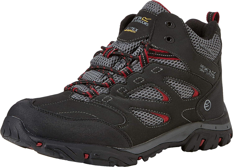 REGV7 #Regatta Holcombe Iep Mid, Chaussures de Randonnée Hautes Homme