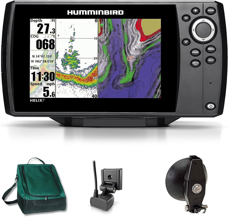 Humminbird Helix 7 Sonar GPS Echolot Mar tarjeta Combo para plotter Portabel Basic Plus: Amazon.es: Deportes y aire libre