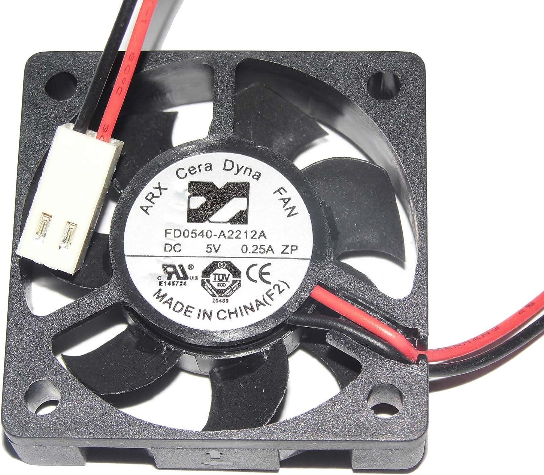 Generic CeraDyna - Ventilador DVR (4 cm, FD0540-A2212A, 5 V, 0,25 ...