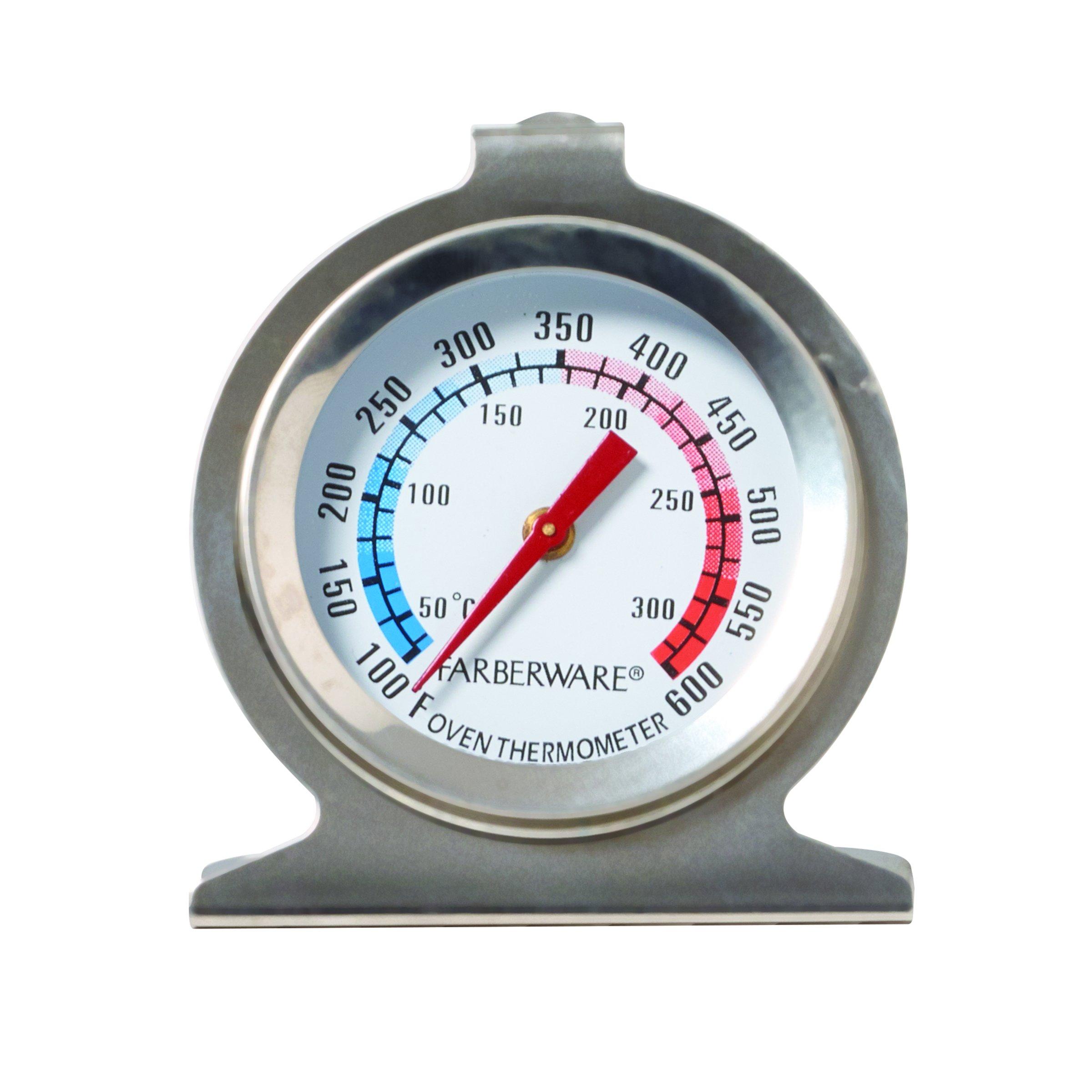 Farberware 5141019 Protek Classic Oven Thermometer, Silver