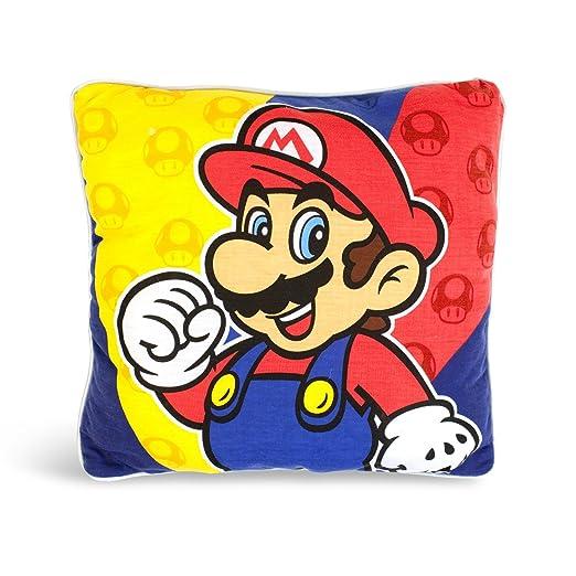 Super Mario Bros - cojín de Super Mario - decorativo y ...