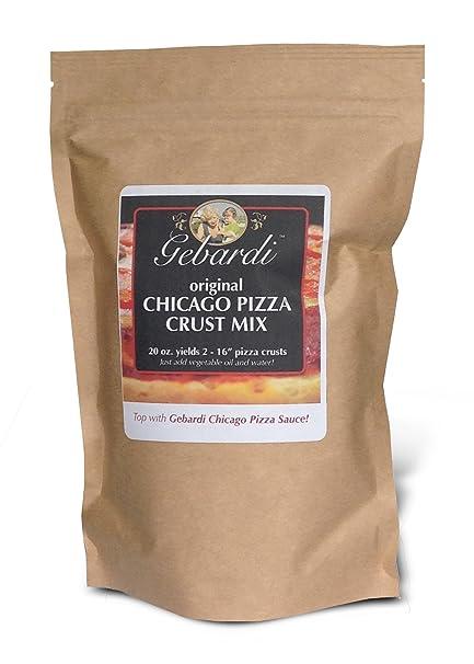 Gebardi Original Chicago Pizza Crust Mix, 20 oz.