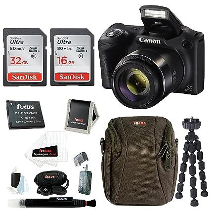 Canon PowerShot SX420 IS 20 MP Digital Camera W 48GB Accessory Bundle