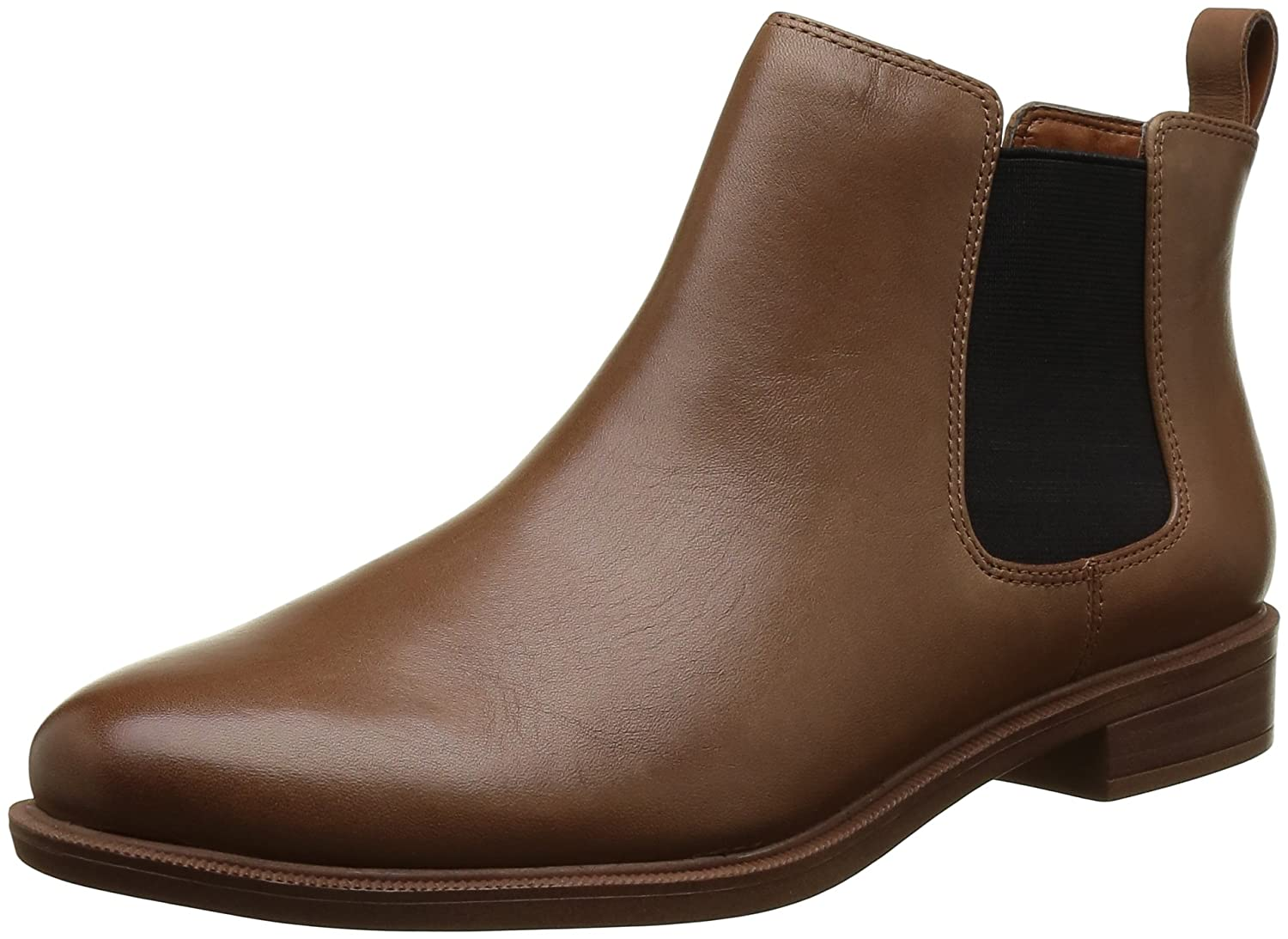 Clarks Taylor Shine, Botas Chelsea Mujer 38 EU|Marrón (Tan Leather)