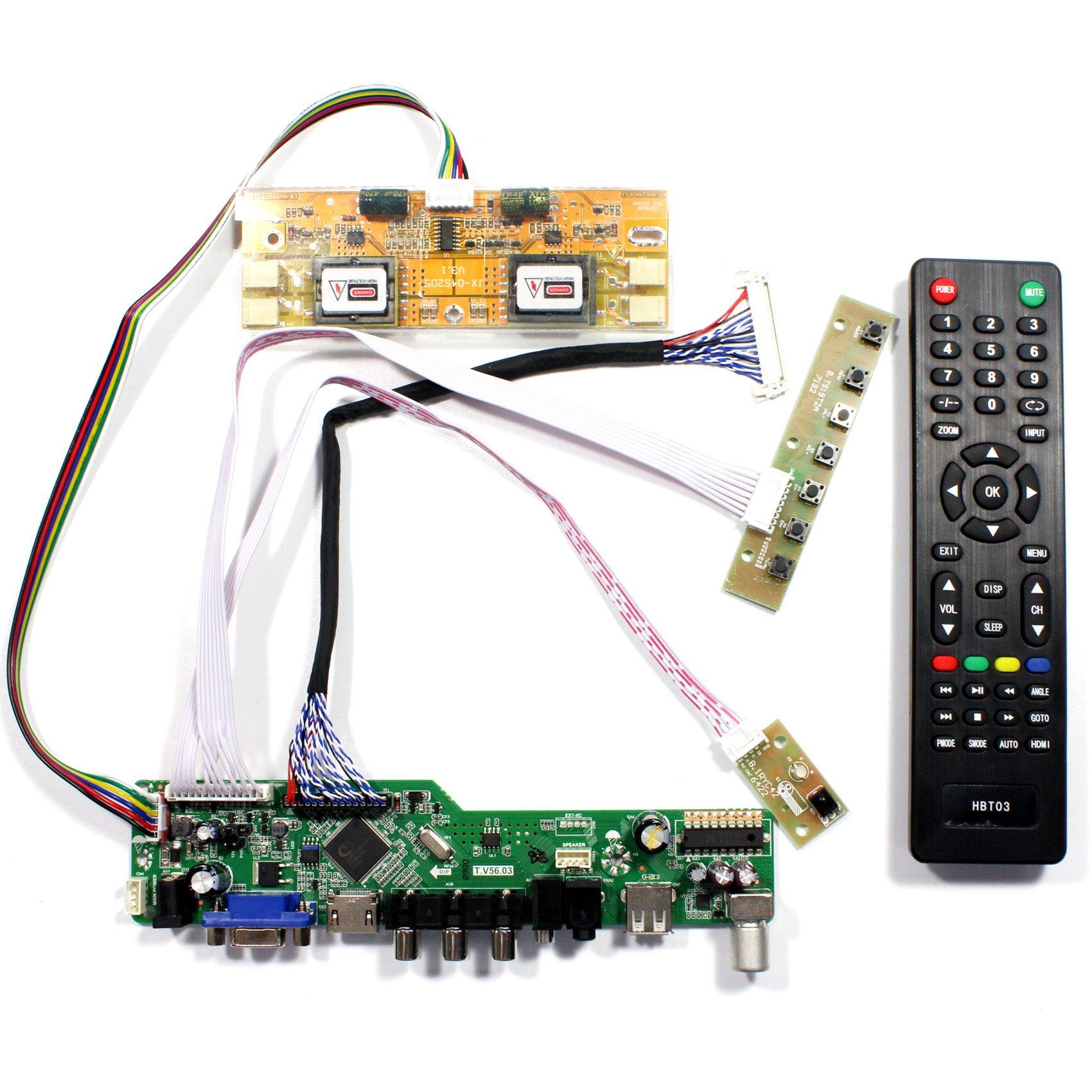Controladora LCD HDMI VGA 20.1 22 1680x1050 M201EW02 LTM220M