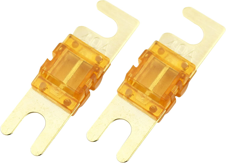 BATCF35 10 Piece Nickel 35 Amp ATC Fuse Bullz Audio