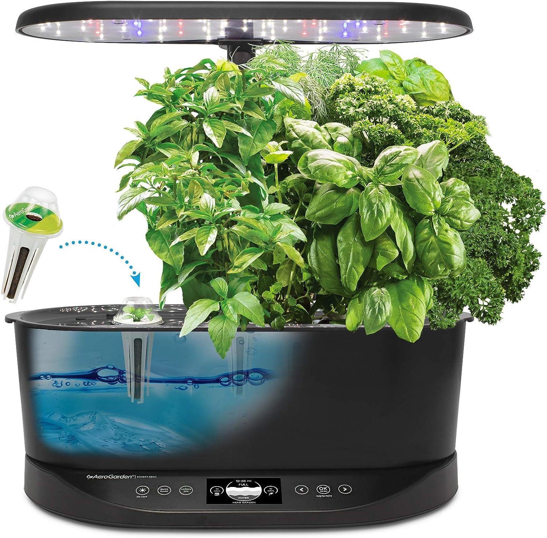 AeroGarden Bounty Basic Hydroponic Herb Garden