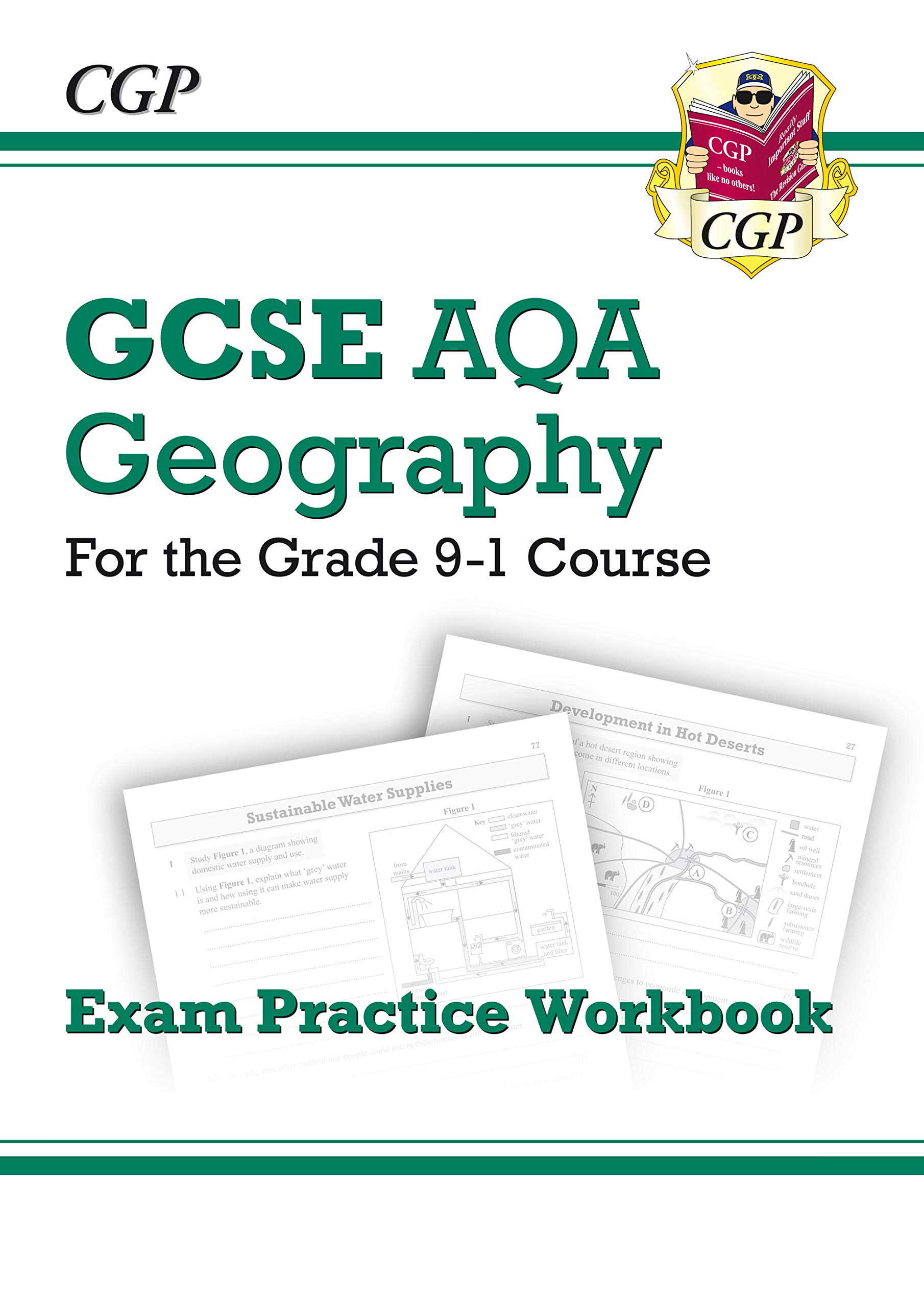 Grade 9 1 GCSE Geography AQA Exam Practice Workbook
