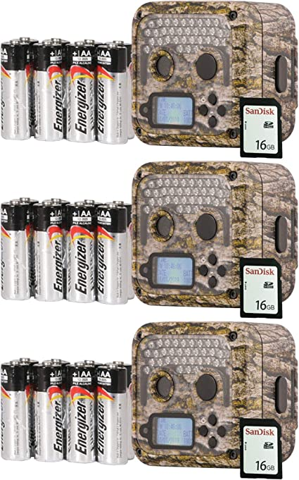 /& SD Cards 2 Pack Wildgame Innovations 12MP Infrared Hunting Trail Game Camera