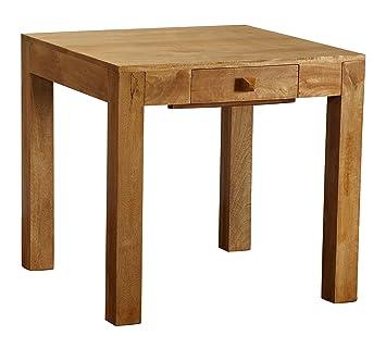 Homescapes Dakota Carre 80 X 80 Cm Table De Salle A Manger Chene