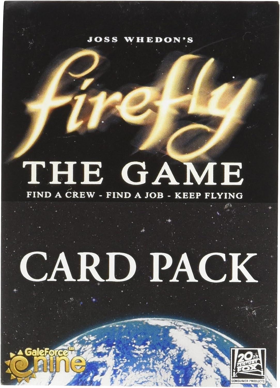 Juego de Cartas Firefly Gale Force Nine Booster: Amazon.es: Juguetes y juegos