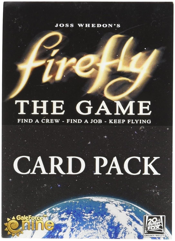 Juego de Cartas Firefly Gale Force Nine Booster: Amazon.es ...
