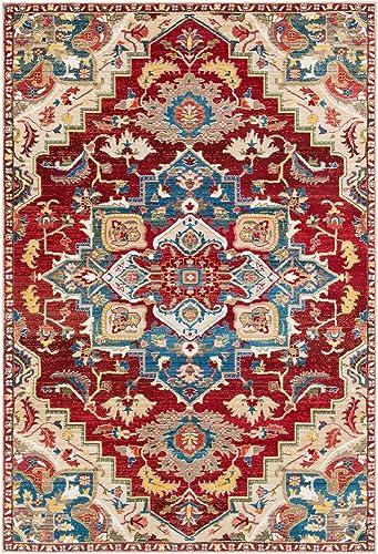 Surya Crafty-2 x 3 Area Rug, Red, Orange