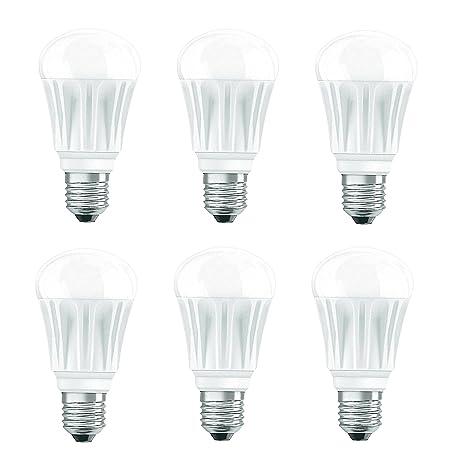 6 x Bombilla LED E27 75, W equivalente a 40 W OSRAM Bombilla LED (