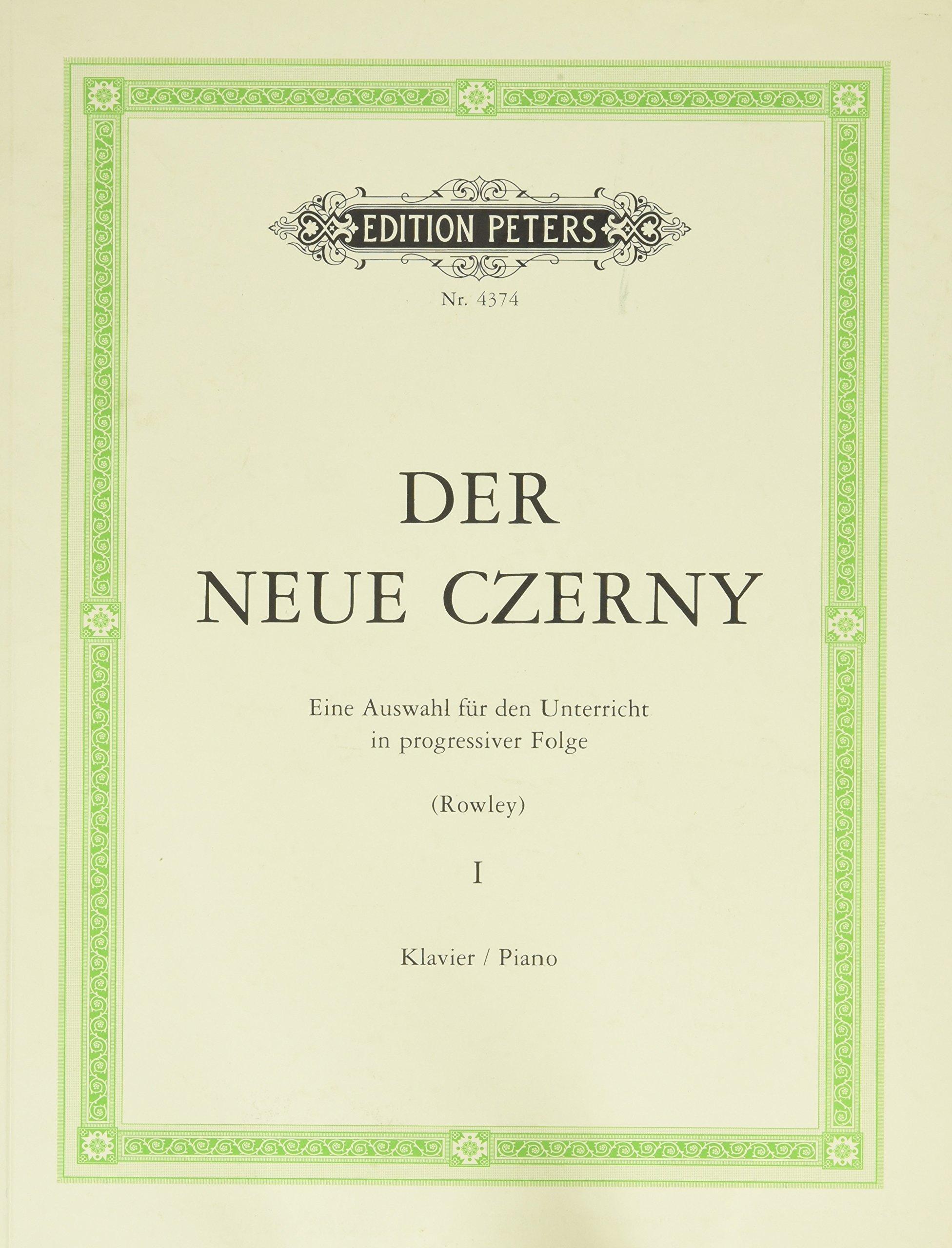 Der neue Czerny 1: Eine Auswahl für den Unterricht in progressiver Folge (Klavier)
