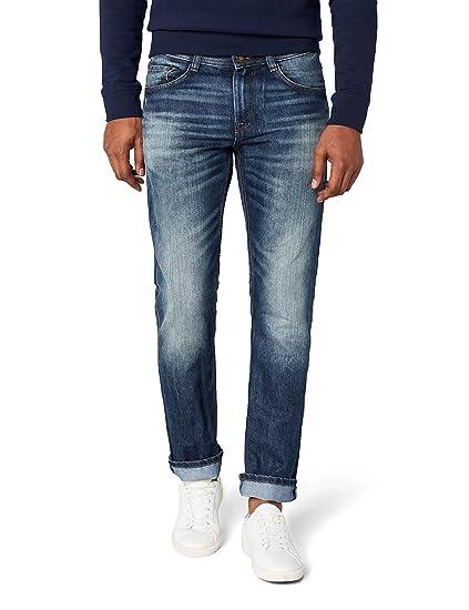 af248710e677a5 TOM TAILOR Herren Jeanshose Jeans 1 1 Marvin Straight  Amazon.de  Bekleidung