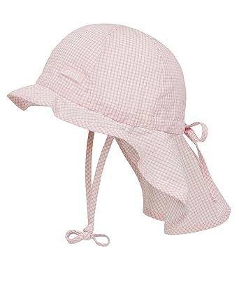 52b71367649db Döll Unisex - Baby Schirmmütze Sonnenhut mit Nackenschutz 000076941   Amazon.de  Bekleidung
