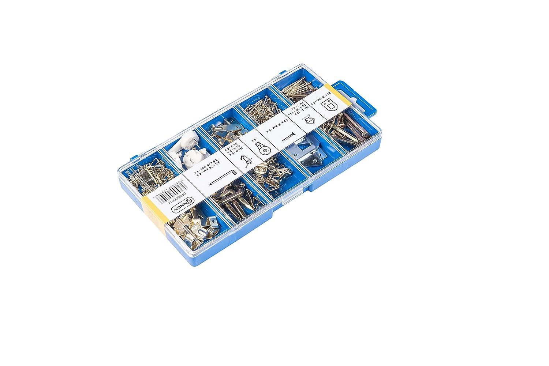 Connex DP8500014 Bilderhaken-Sortimentskasten 142 teilig