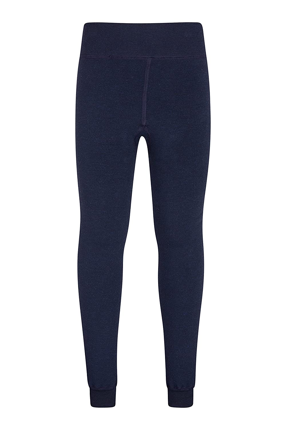 Mountain Warehouse Winter Essential Youth Leggings - Breathable Kids Leggings, Quick Wicking, Heat Retention - Fleece Lined, Extra Comfort - Great As A Winter Base Layer