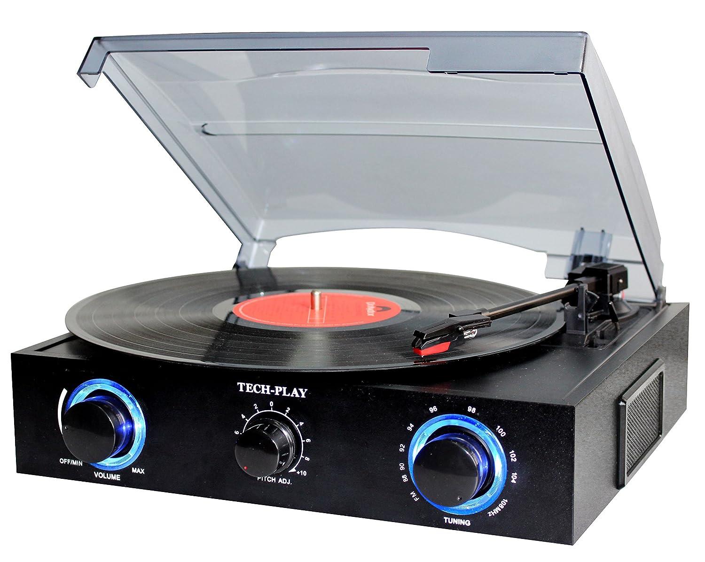 Amazon.com: techplay tcp5 Turntable con Pitch Control, radio ...