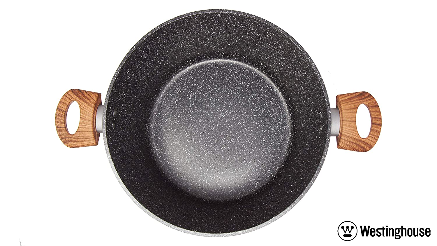 Westinghouse Marble Coated Non-Stick Grey Casserole 11 inches