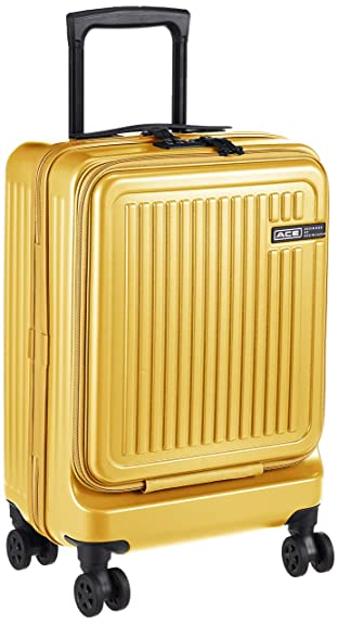 d2be85ab65 Amazon | [エースデザインドバイエース] スーツケース ジョリー 06426 機内持ち込み可 36L 47 cm 3.3kg イエロー |  ACE DESIGENED BY ACE(エースデザインドバイエース) ...