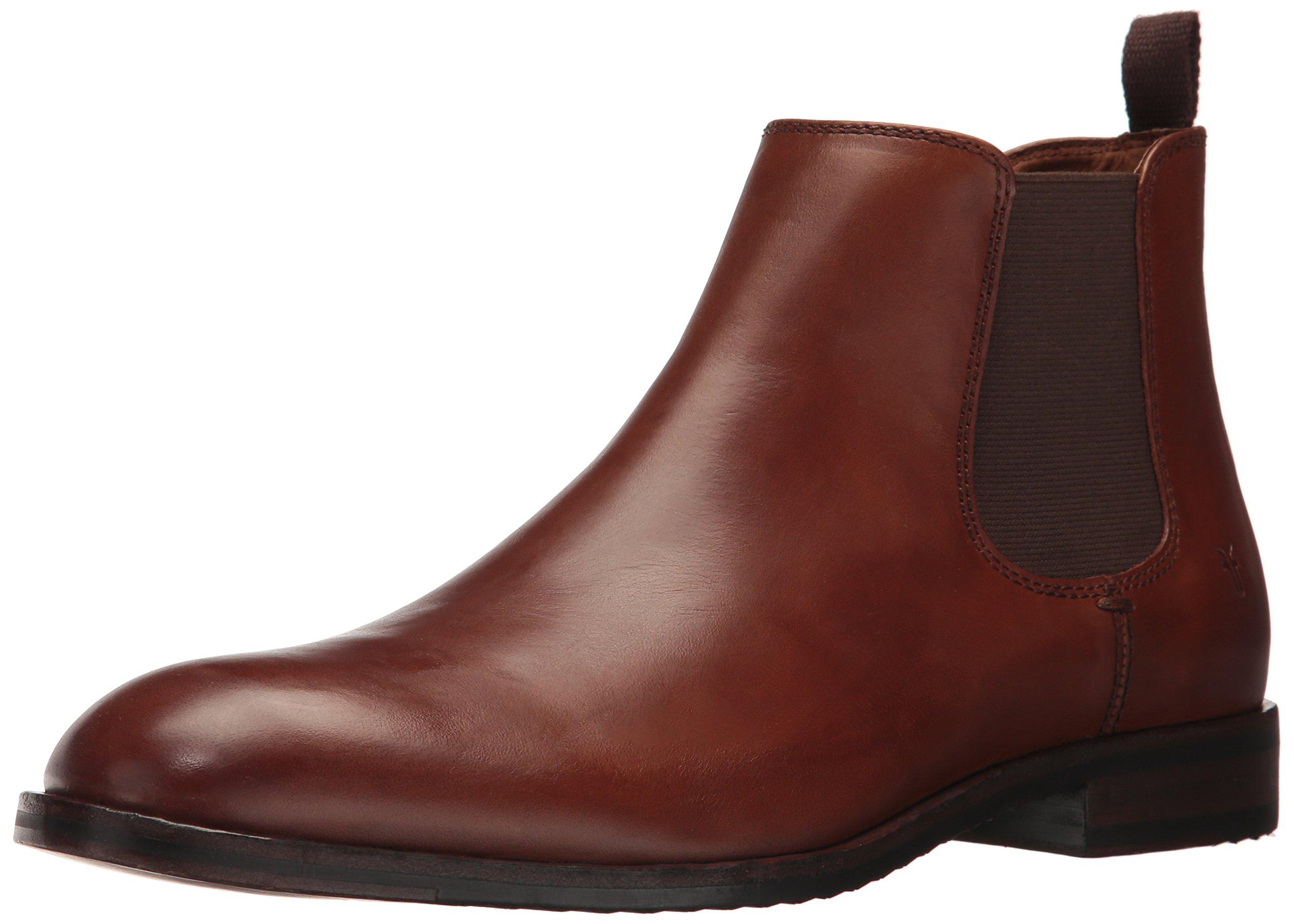 FRYE Men's Sam Chelsea Boot, Cognac, 8 D US