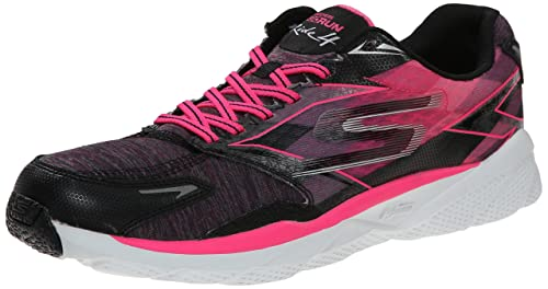 Skechers Go Run Ride 4 Excess - Zapatillas Running para Mujer, Color Negro (Noir/Rose), Talla 36: Amazon.es: Zapatos y complementos