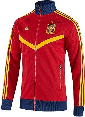 giacca tuta adidas rossa uomo